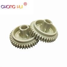 цена на 20pcs RU5-0016-000 RU5-0016 Fuser Gear 40T Lower Pressure Roller Gear for HP 4200 4240 4250 4300 4350 4200N 4240N 4250N 4300N