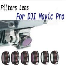 עבור Mavic פרו מצלמה מסנן UV CPL ND 4 8 16 32 עדשת מסנני סט לdji Mavic פרו Drone אביזרי צפיפות ניטרלי 4K מסננים