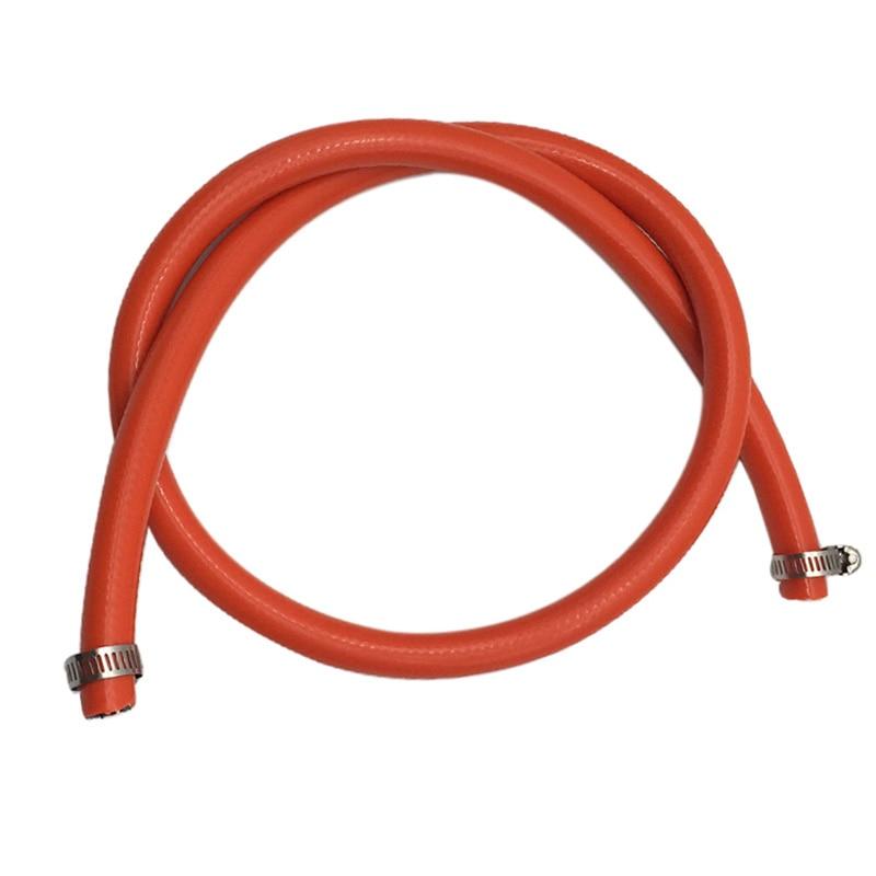 1M Tubo de Ligação de Gás ID = 8mm 15mm Polónia Tubulação Com Duas Braçadeiras para Tubos De Diâmetro Exterior