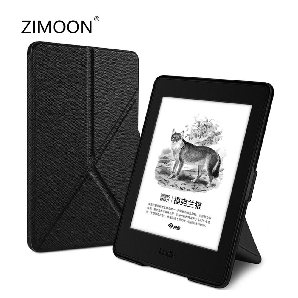 Чехол-подставка для Kindle Paperwhite 1 2 3, умный чехол из искусственной кожи для Kindle Paperwhite DP75SDI, чехол для планшета со складным кронштейном