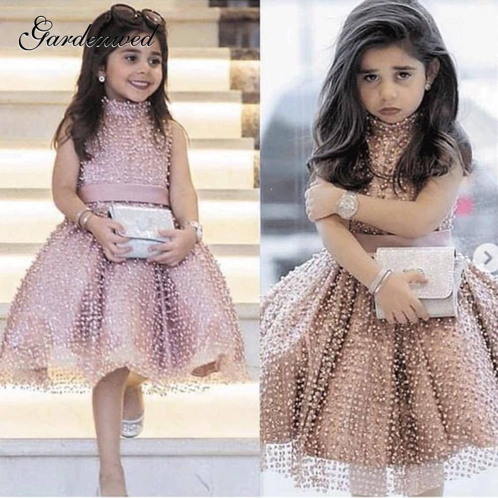 Модные свадебные платья для маленьких девочек со звездами цветочным