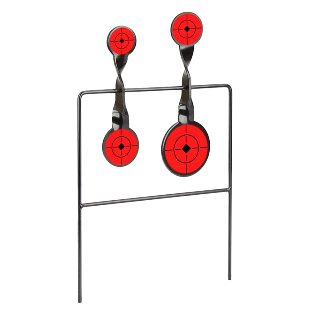 Carbon Steel Shooting Targets Spinning Targets Reset Targets
