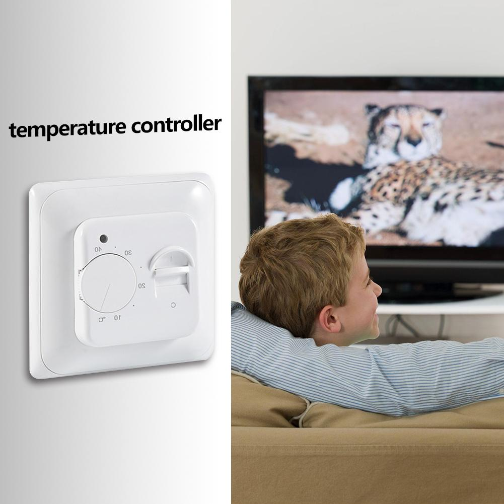 Water Electric Floor Heating Thermostat Warm Floor Temperature Controller Support Dropshipping