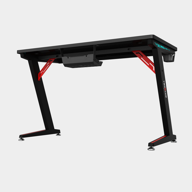 E-sports computer table notebook desktop computer special table RGB light cool game table home desk Internet bar computer table