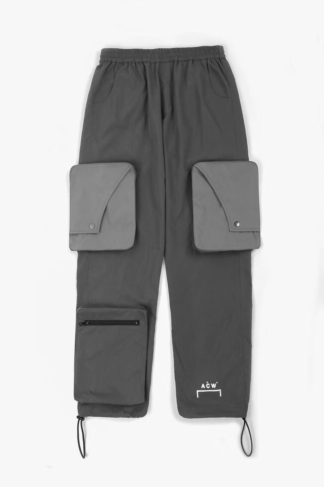 19ss Acw Cargo pantalon poche A froid mur pantalon hommes femmes Hip Hop Streetwear Acw cordon Streetwear Joggers A-COLD-WALL pantalon