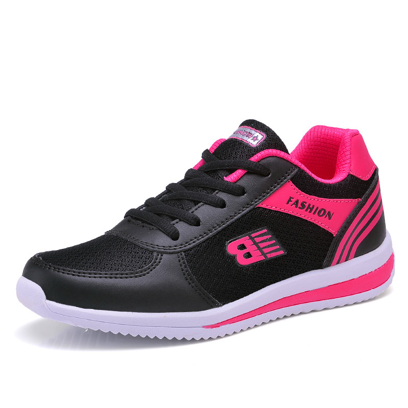 Breathable Spring And Summer Mesh Women's Shoes Sports Casual Fashion Wild Wear-resistant New Explosion
