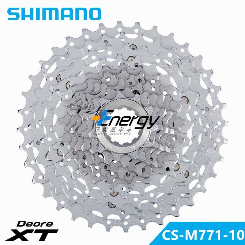 SHIMANO M771/981 MTB Mountain Bike 10S Cassette Freewheel 11-34T XTR DEORE XT Sprockets Bicycle Parts 10/30 Flywheel