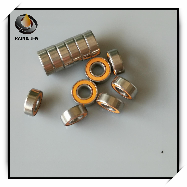 1Pcs Fishing Reel Bearing 5X11X4mm SMR115 2OS CB ABEC7 LD 5x11x4 SMR115 2RS Stainless Steel Hybrid Ceramic Ball Bearing