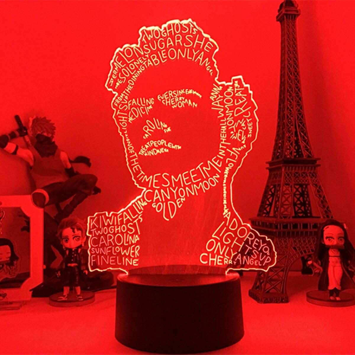 Lampara Гарри»; Ботинки в стиле «Эдвард стили 3D Ночной светильник лампа vitage Dragon для любителей Украшения в спальню светильник светодиодный сенс...