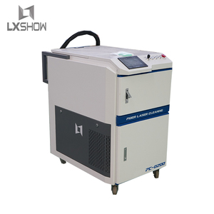 high performance airstrip paint metal rust cleaning laser machine(China)
