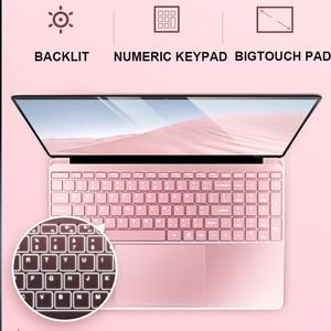 """Image 3 - 15,6 """"portátil de juegos con retroiluminación teclado ordenador portátil 8GB RAM DDR4 1TB 512G 256G 128G SSD Win10 Quad Core IPS Ultrabook"""