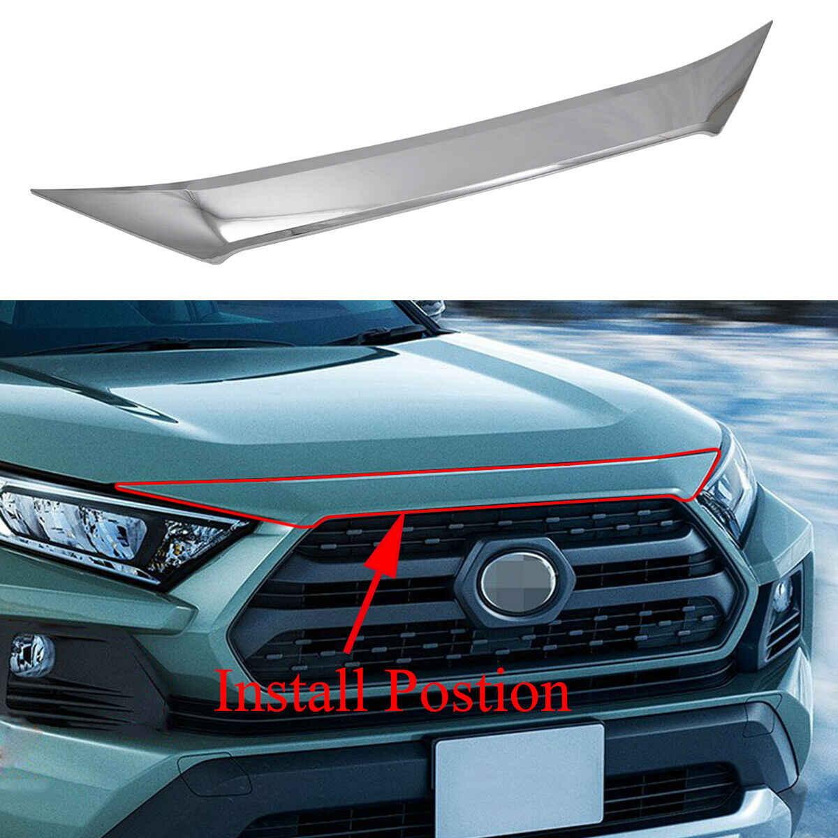 Car Accessories Air Vent Hood Intake Fender Cover Trim For Toyota Rav4 2019-2020