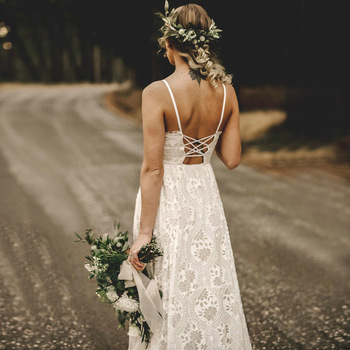 Robe de Mariage Bohème Chic Emma