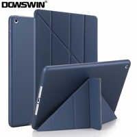Für iPad 10,2 Fall PU Leder Silikon Soft Cover für iPad 7th Generation Flip Stand Fall für Apple iPad 10,2 2019 A2197 Funda