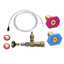Kit Pressure Washer for Second-Story-Quick-Connect Nozzle-Tips Chemical-Injector Adjustable