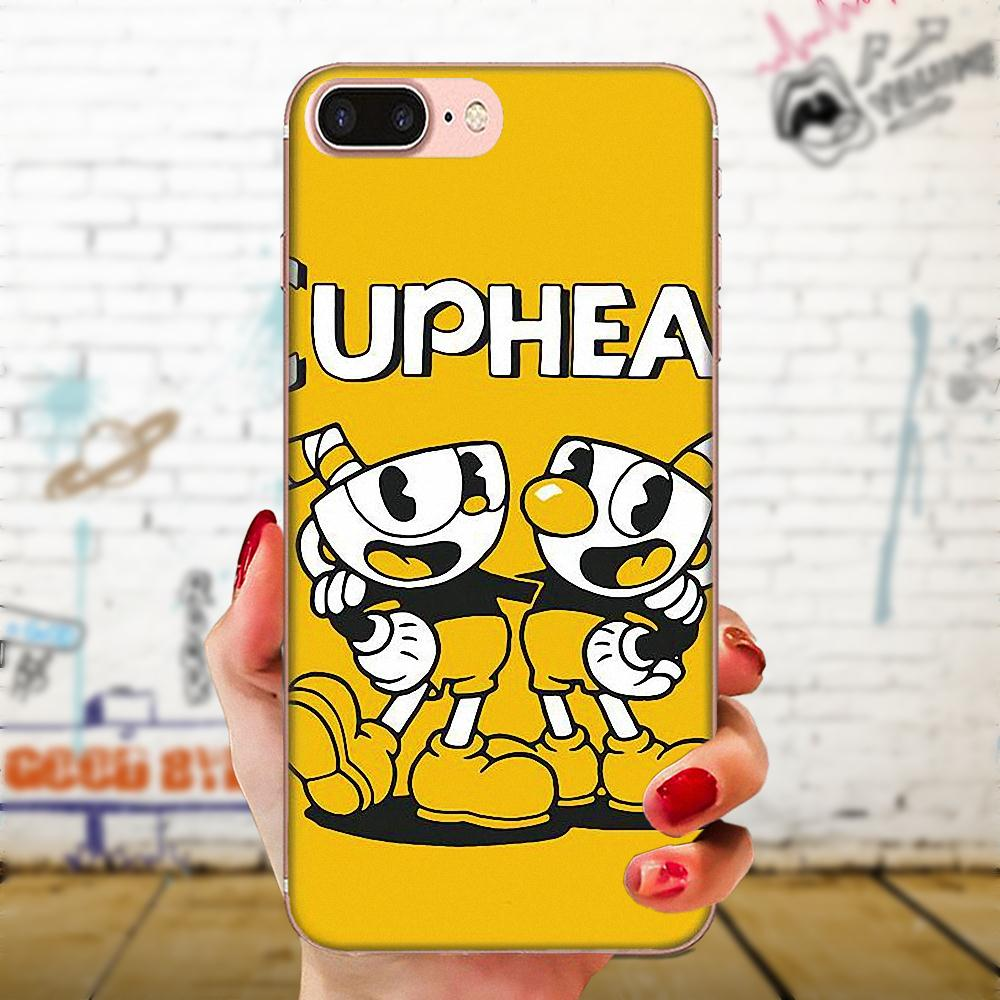 Cover Style Design Cell Phone Case For Huawei Mate 9 10 20 P P8 P9 P10 P20 P30 P40 Lite Pro Smart 2017 Cuphead