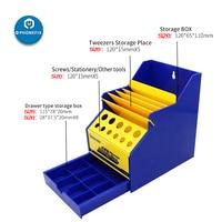 Mechanic Tools Multi-purpose Storage Box Office Desktop Helper Maintenance Platform Classification Container Screwdriver Toolbox