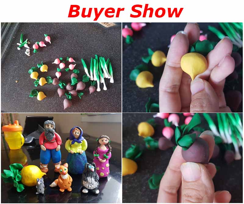 24 colors colored clay plasticine C