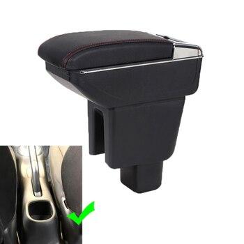 Для Honda BRV Подлокотники коробка с подстаканниками кожаная Автомобильная центральная консоль USB авто подлокотник коробка