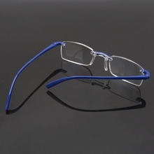 Fashion Unisex Clear Rimless Flexible Reading Glasses Eyewear Reader +1.00 ~4.00 85WB