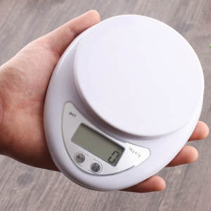 Digital-Scale Electronic-Scales Food-Balance Measuring-Weight Kitchen Portable 5000g/1g