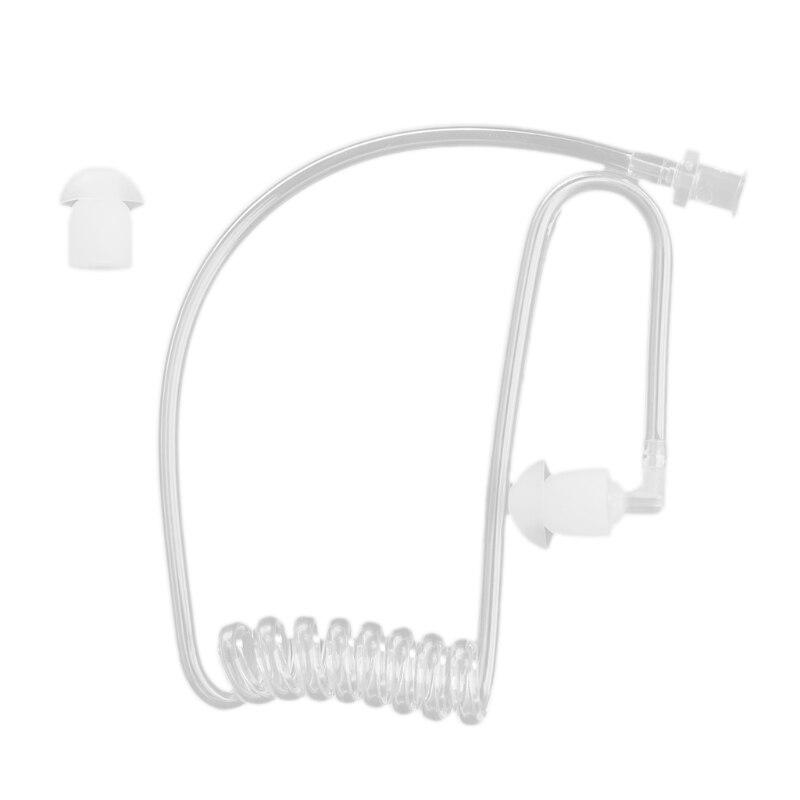 Coil Acoustic Air Tube Earplug For Two-Way Radio Walkie Talkie Earpiece Headset Accessories