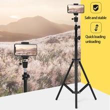 160cm 삼각대 1/4 스크류 헤드 사진 라이트 스탠드 삼각대 전화 카메라 리플렉터 Softbox 플래시 라이트 우산 비디오 스튜디오