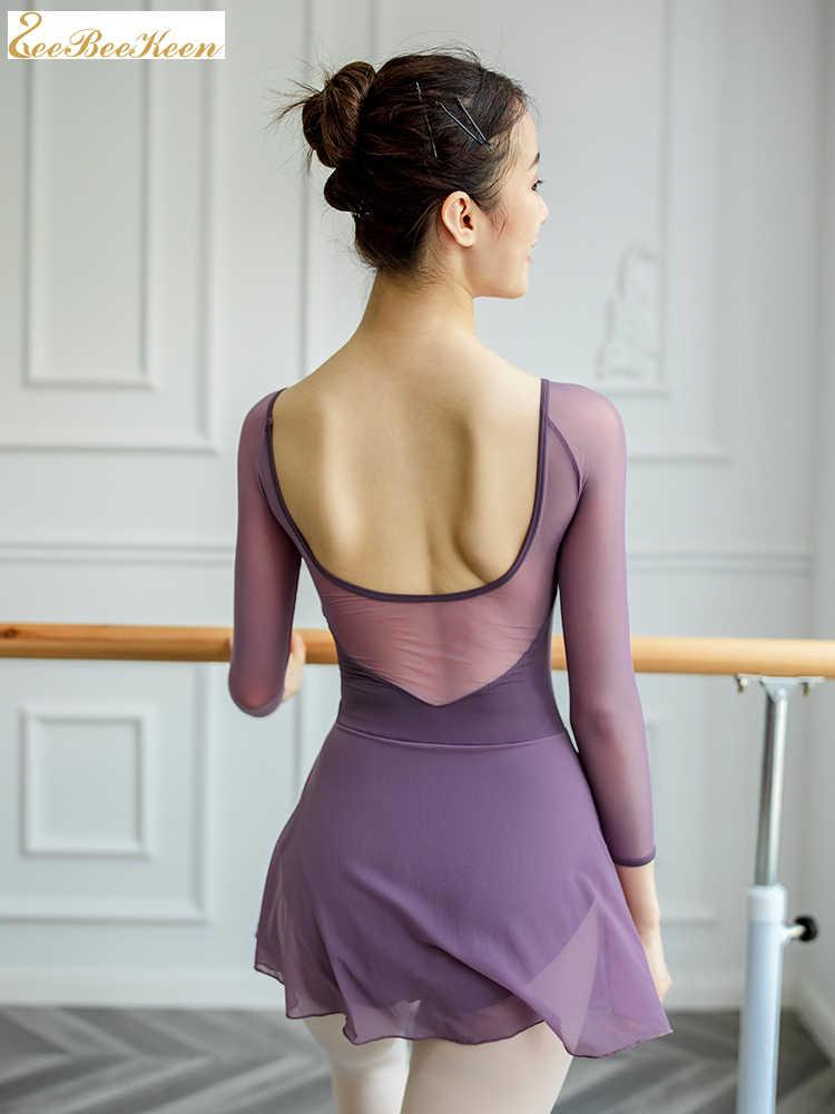 Ballerina บัลเล่ต์ยิมนาสติกหญิงฤดูร้อน Lycra Dance YOGA เครื่องแต่งกายผู้ใหญ่ leotard และกระโปรงผู้หญิงฝึก dancewear