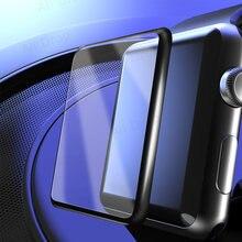 Protetor de tela para apple assistir filme 5 3 38mm 40mm 44mm 42mm não temperado de vidro para apple assistir filme protetor de tela 6 se 5 4