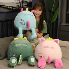 40 centimetri Animali Butt Peluche Cuscino Giocattoli Farcita Molle Del Fumetto Piggy Bambola Husky Orso Dinosaur Unicorn Futon Camera Da Letto Decorazione Regali(China)