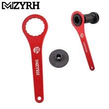 Cor vermelha e preta da bicicleta dub bb, suporte inferior da chave 44mm 16 notícias instalar reparo para bb51 bb52, 1 peça ferramenta de reparo de chave inglesa da bicicleta