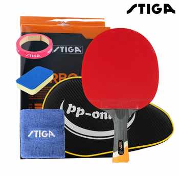 STIGA professional Carbon 6 STARS table tennis racket for offensive rackets sport racket Ping Pong Raquete pimples in - DISCOUNT ITEM  10 OFF Sports & Entertainment