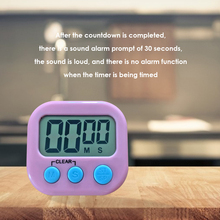 Electronic LCD Digital Display Cooking Screen Timer Magnetic Countdown Clock Stopwatch with Stand for Kitchen Accessories f14956 leap tf6204 interval timer digital sports stopwatch countdown lcd clock for training yoga boxing running page 5