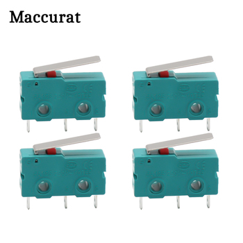 5pcs DC 5A KW4-3Z-3 Micro Limit Switch For 3D Printer 3 Pin N/O N/C Switch KW4 Micro Switch Factory Direct 3D Printer Parts new original omron limit switch wld28 n travel switch micro switch