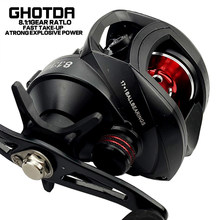 222g UltraLight Baitcasting Fishing Reel Left Right Hand Metal Spool Fishing Bait Casting Reel Tackle