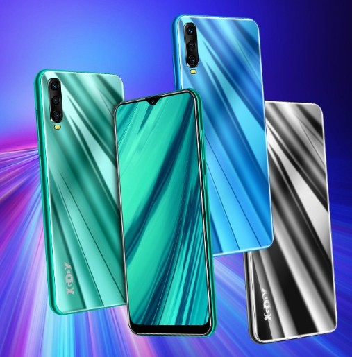 "XGODY A90 3G Smartphone 6.53 ""199 Android 9,0 2GB RAM 16GB ROM MT6580 Quad Core Dual sim GPS WiFi Handy Handy"
