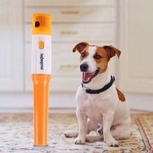 Электрический педикюрный инструмент для ухода за домашними животными, шлифовальная машина, пилочка для собак, щенков, кошек, лап, палец с когтем, машинка для стрижки ногтей, триммер для стрижки домашних животных