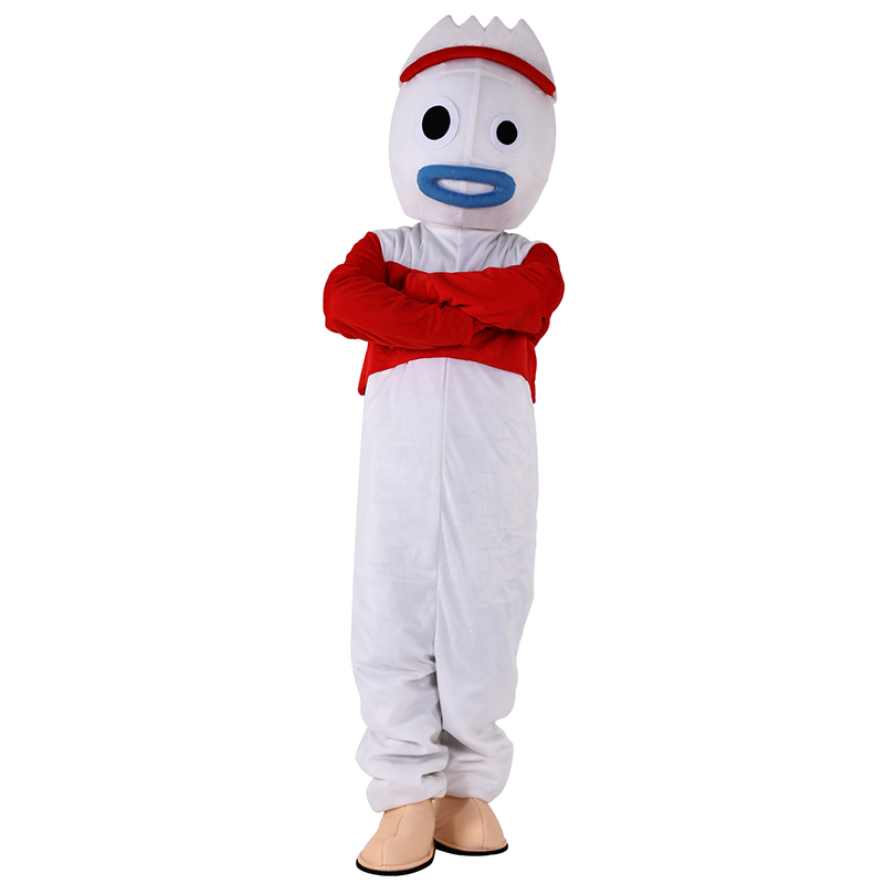 Vente chaude jouet histoire 4 Forky mascotte costume Woody Cosplay Animation Costume pour adulte Halloween carnaval événement