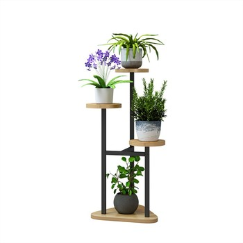 Hanging Orchid Shelf Living Room Bedroom Flower Stand Multi-layer Indoor Specials Wrought Iron Balcony    Home