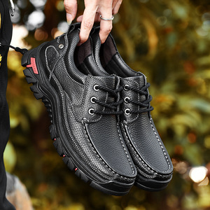 genuine leather men outdoor hi
