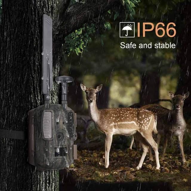 Balever BL480L-P 4G Hunting Trail Cameras 940nm IR Wildlife Forest  Trap 12MP HD Wild Game Cameras фотоловушка для охраны 5