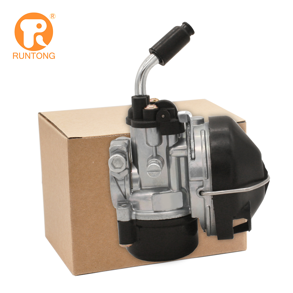 Runtong Dellorto Tomos Manual SHA1412/F37 Carburador para Moto Mini moto Bolso Ciclomotor Bicicleta bicicleta motorizada Carburador