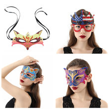 Free Shipping Bling Party Mask 5D DIY Diamond Painting Personalized Veil Special-Shaped Partial Drill Nask Повязку Festa Vendada