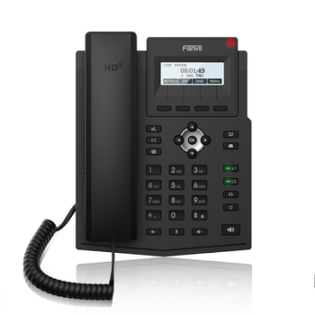 IP Phone Fanvil X1S/X1SP Enterprise IP Telephone HD Audio Support EHS Headset VoIP Phone For Business Meeting Wireless Telephone