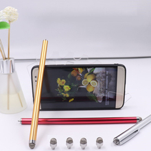 New Arrive Micro-Fiber Mini Metal Capacitive Touch Pen Stylus Screen For Phone Tablet Laptop/ capacitive touch screen devices