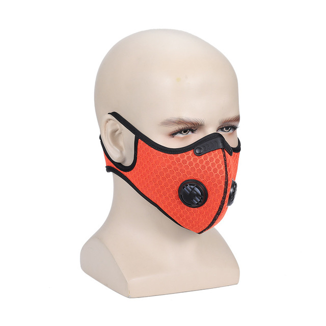 mask PM2.5  face mask carbon Activated carbon anti-flu anti-dust  mouth Gas  Reusable Anti-dust, anti-pollution,Anti-saliva 2