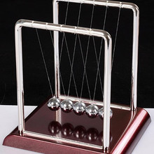 Desk-Toy Balls Teaching-Supplies Science-Pendulum Physics Newton Cradle Balance-Steel