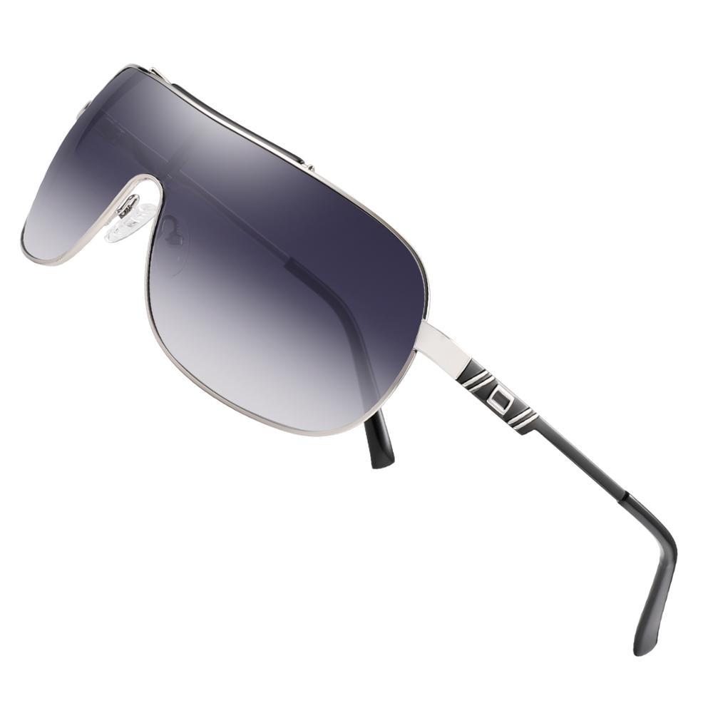 Image 3 - FENCHI NEW Sunglasses  Men Women Driving Blue Oversized Female Sun Glasses Windbreak Goggles Zonnebril Dames Oculos FemininoMens Sunglasses   -