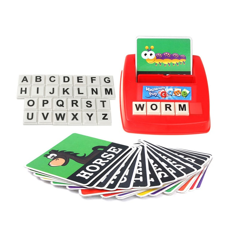 Learning Entertainment English Letter Sight Words Cards Phonics Educational Games for Kids 0-14 Ages Language Children Toys