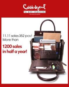 Image 2 - Cobbler Legendกระเป๋าหนังแท้กระเป๋าถือกระเป๋าสะพายแฟชั่นฤดูร้อนสำหรับผู้หญิง2020 Vintage Designerยี่ห้อCrossbody